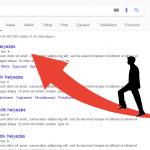 Hogyan lehet a Google keresőben előre kerülni?