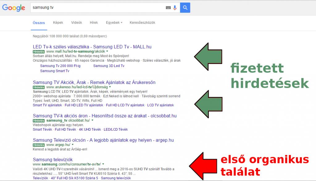 hogyan lehet google keresőben előre kerülni