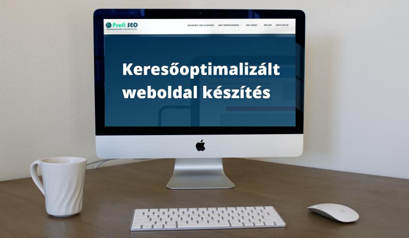 keresőoptimalizált weboldal készítés