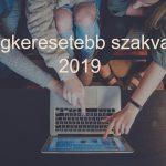 legkeresettebb szavak 2019